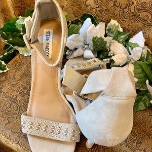 🌟Steve Madden Canastel Suede Ankle Strap Sandals